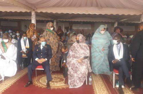 Article : Phase 2 Projet SWEDD, la Première Dame donne le top à Kaédi