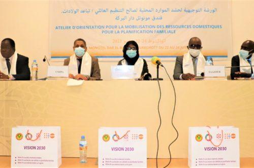 Article : Mobilisation des ressources domestiques pour la Planification familiale, un problème de coordination et d'utilisation des ressources
