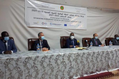 Article : Plan national de développement sanitaire 2021-2030, les experts se penchent sur le draft