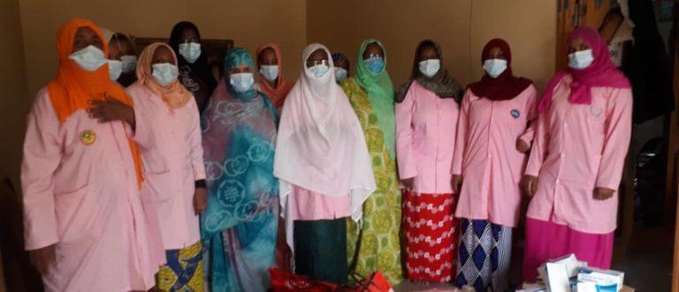 Article : Continuité des services de santé de reproduction sous Covid-19, une mission de l'UNFPA et des Sages-femmes de Mauritanie sensibilise les prestataires dans 8 Wilayas